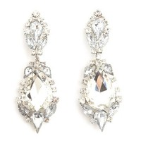 PRINCESS STONE DANGLE EARRING