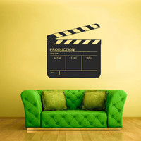 Wall Vinyl Sticker Decals Decor Art Bedroom Design Mural Video Producer Film Cinema (z1745)