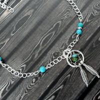 Dream Catcher ANKLET or BRACELET