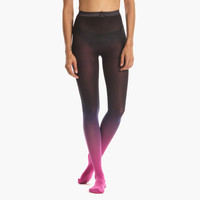 Women's Ombre Tights (Fuschian Violet)