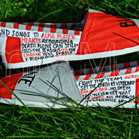 Custom, hand painted TOMS: Ohio State Buckeyes
