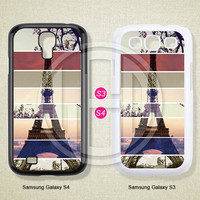 Eiffel Tower, Phone cases, Samsung Galaxy S3 Case, Samsung Galaxy S4 Case, Case for Samsung Galaxy, Cover Skin -S0301