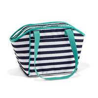 31 - Lunch Break Thermal - NEW PRINT Navy Wave! BRAND NEW Lunch Bag