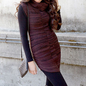 Braid Sweater Tunic