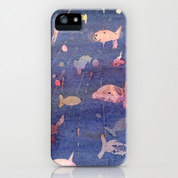 aquarium iPhone & iPod Case by rysunki-malunki