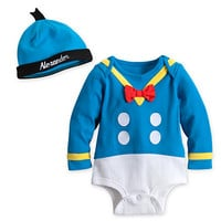 Donald Duck Disney Cuddly Bodysuit Set for Baby - Personalizable