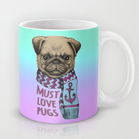 Must Love Pugs Mug by micklyn