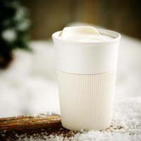 To Go Mug with Cream Sleeve, 8 fl oz