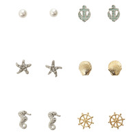 LOVEsick Nautical Earrings 6 Pair