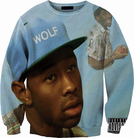 Tyler The Creator Wolf Gang Crew Neck from YeahWhateverz on Etsy