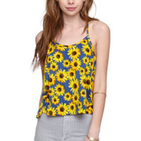 LA Hearts Sunflower Racer Tank at PacSun.com