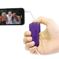 GabbaGoods #TheSelfie Camera Remote Shutter Release for Apple iPhone, iPad, and iPod touch - Retail Packaging - Purple