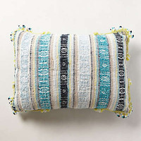 Dian Jacquard Pillow by Anthropologie