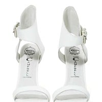 Jeffrey Campbell Shindig Platform - White