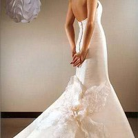 Wedding Dresses Gowns: Romantic Halter Wedding Dress