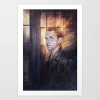 Ninth Doctor Art Print by jasric
