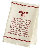Kitchen 101 Tea Towel