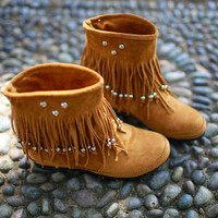 Cute tessel fashion boots