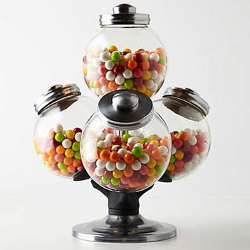 Argentinean Candy Jar by Anthropologie Clear One Size Kitchen