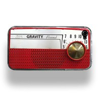 Vintage Radio Zero Gravity Apple iPhone 4 Custom by RecordWallets