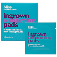 Sephora: Bliss : Ingrown Eliminating Pads : hair-removal-products