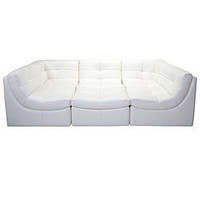 Z Gallerie - Cloud Modular Sectional - White