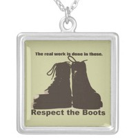 Respect The Boots : What real workers wear.