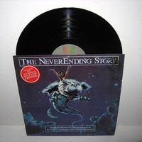 Rare Vinyl Record Album The Neverending Story Original Soundtrack LP 1984 Fantasy Classic Limahl