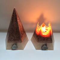 Scented Pyramid Candle- Vegan Wax