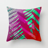 Hot Tropicana Throw Pillow by Ally Coxon