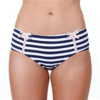 STRIPE AWAY RETRO HI-WAIST BY BETSEY JOHNSON