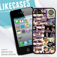 5 Second of Summer collection design hard case for iphone 4/4s, iphone5/5s/5c