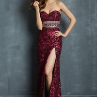 Night Moves 7012 at Prom Dress Shop