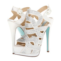 Blue by Betsey Johnson Love Ivory Satin - Zappos.com Free Shipping BOTH Ways