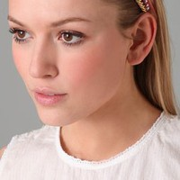 Juicy Couture Satin &amp; Chain Headband