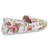 Floral Print Zoey Flat - WetSeal