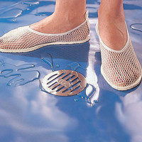 Womens Shower Shoes - Mesh Shower Shoes - Shower Shoes - Easy Comforts
