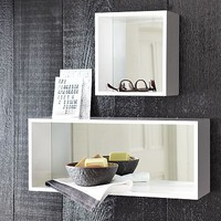 Box Mirror Shelves | west elm