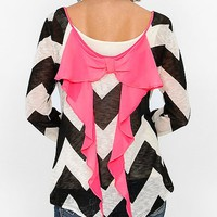Daytrip Chevron Top