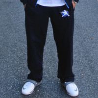 FlyBy Lacrosse Sweatpants Navy | Lacrosse Unlimited