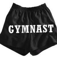 Gymnastics V-Notch Shorts GYMNAST