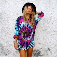 Tripped Out Tie Dye Shirt