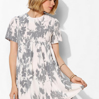 Oh My Love Curved-Front Babydoll Dress - Urban Outfitters