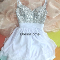 Short Blue Prom Dress - Cheap Prom Dress Short / Blue Prom Dresses / Simple Evening Dresses / Custom Homecoming Dress