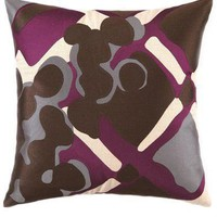 Trina Turk Painterly Plaid Pillow - Pillows - Bedding