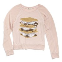 Ten Sixty Sherman 'Foodie' Graphic Sweatshirt (Big Girls) | Nordstrom