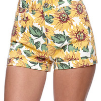Bullhead Denim Co Mom Sunflower Shorts at PacSun.com
