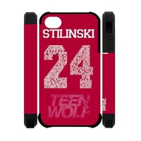 Teen Wolf Stilinski 24 iPhone 4 4S Full protection Durable Cover Case