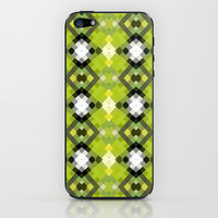 Diamondscape Citrine iPhone & iPod Skin by Lisa Argyropoulos