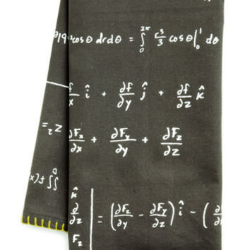 As Easy as Pi Tea Towel